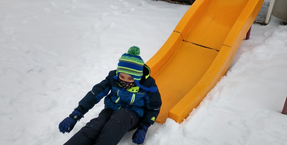 Students had a ton of fun today playing in the snow. We love getting our kids...